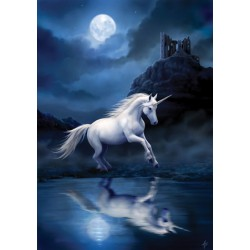 Moonlight Unicorn Card 6 Pack by Anne Stokes